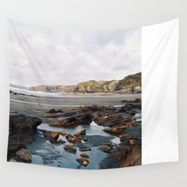 A Pembrokeshire beach in winter Wall Tapestry
