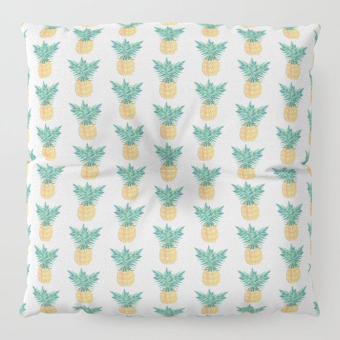 Retro Pineaple Floor Pillow