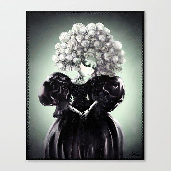 Lady Nuit Canvas Print