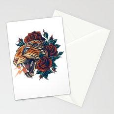 Ornate Leopard (Color Version) Stationery Cards