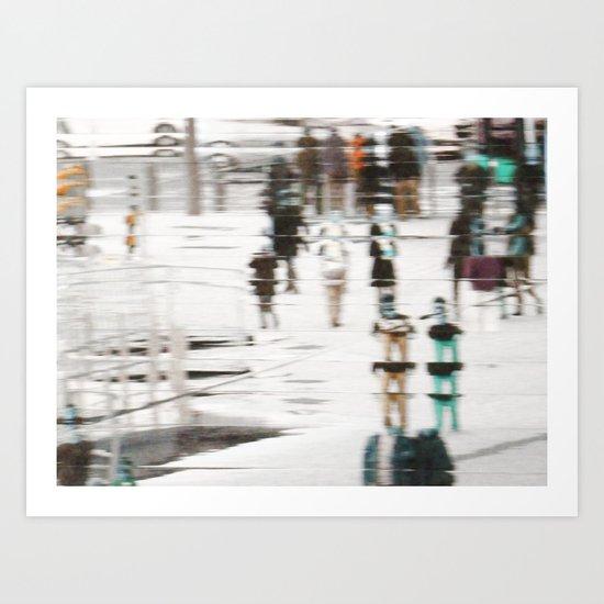 Life under the Dôme Art Print