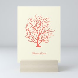 AFE Branch Coral, Living Coral Mini Art Print