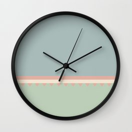 Jagged 8 Wall Clock