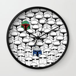 Like Father Like Sons Wall Clock