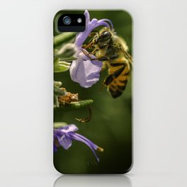 Bee at work iPhone Case