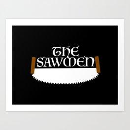 The Sawmen Art Print