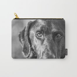 Black Lab Carry-All Pouch