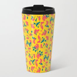 Floral Pattern 1 Travel Mug