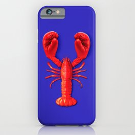 Lobster Punch iPhone Case