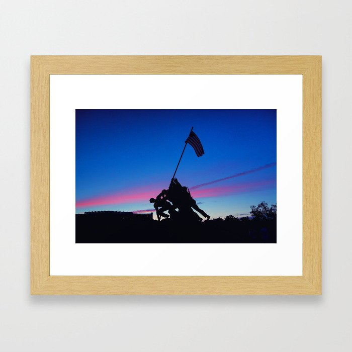 Iwo Jima Framed Art Print