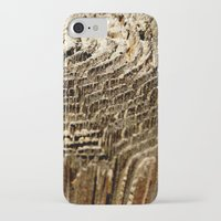 tree rings iPhone & iPod Cases featuring Tree Rings by tracy-Me