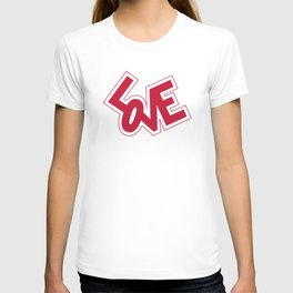 Pop Love in Red T-shirt