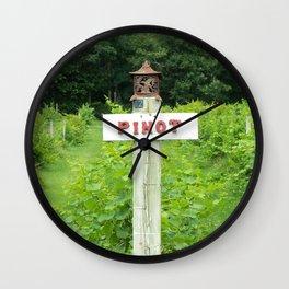 Pinot Wall Clock
