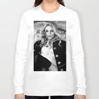 cara delevingne Long Sleeve T-shirts featuring cara delevingne by donotseemeart