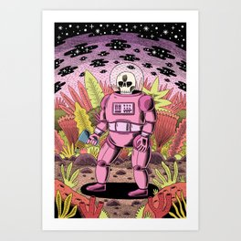 The Dead Spaceman Art Print
