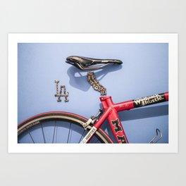 094: LA Art Crank - 100 Hoopties Art Print