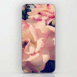 Pink Flowers iPhone Skin