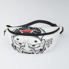 Demon _ Traditional Modern JAPANESE Fanny Pack