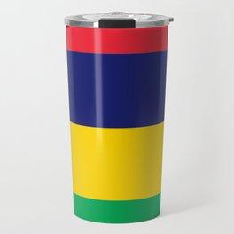 Flag of Mauritius Travel Mug