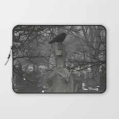 Gothic Scribbles Laptop Sleeve