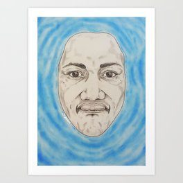 Out of Water Art Print