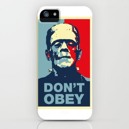 Do not obey iPhone Case