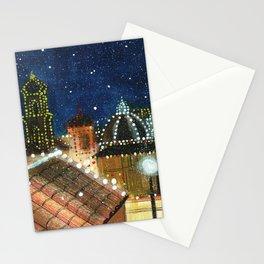 Plaza: Snowy Stationery Cards