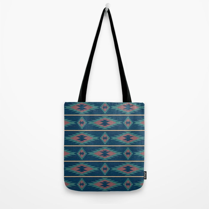 Native Spirit Pattern Tote Bag
