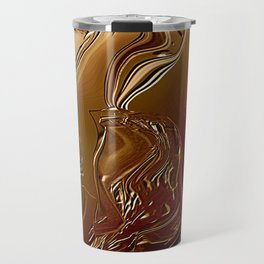 Golden Hour in the Forest Travel Mug