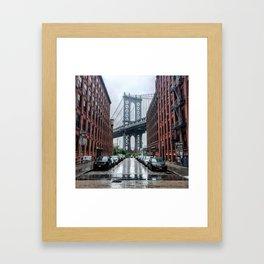 DUMBO, Brooklyn NY Framed Art Print