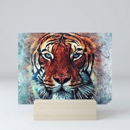 Tiger spirit Mini Art Print