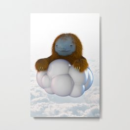 ALL MIGHTY SLOTH Metal Print