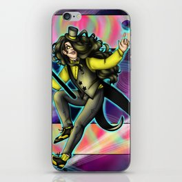 King of the Cosmos iPhone Skin