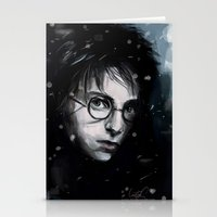 harry Stationery Cards featuring Harry by LucioL