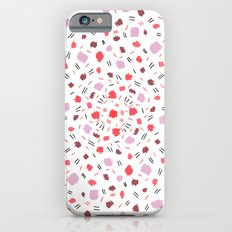 Dots pink iPhone 6s Slim Case