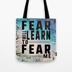 Shatter Me - Fear Tote Bag