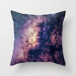Milky Way King Throw Pillow