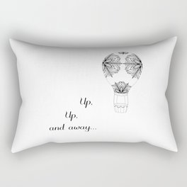 Up, Up, and Away... Rectangular Pillow