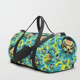 Cute Skull Elvis Duffle Bag