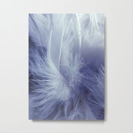 Feather Boa Metal Print