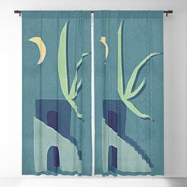 Moon House Blackout Curtain