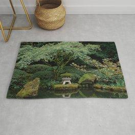 Serenity at a Japanese Garden Rug