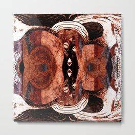 African masks Metal Print