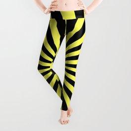 Starburst (Black & Yellow Pattern) Leggings