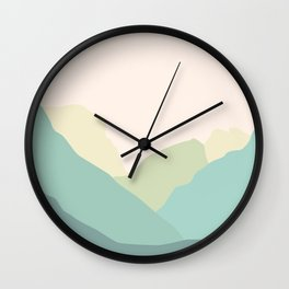 Just You And Me In Yosemite Wall Clock