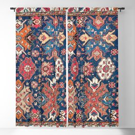 Derbent Daghestan Northeast Caucasus Rug Print Blackout Curtain