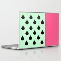 watermelon Laptop & iPad Skins featuring Watermelon by Sweet Colors Gallery