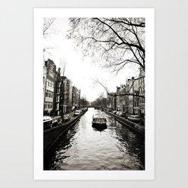 Amsterdam Canals I Art Print