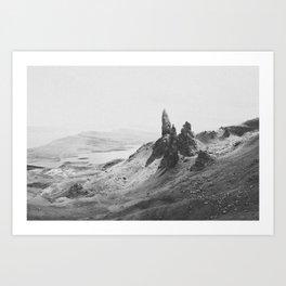 OLD MAN OF STORR / Scotland Art Print