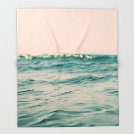 Pink Skies Throw Blanket